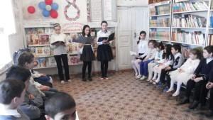 В детской библиотеке был проведен праздник, посвященный Международному женскому дню - 8 Марта (5)