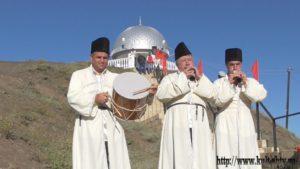 Праздник, посвященный лезгинскому героическому эпосу «Шарвили» 2016 г с Ахты1