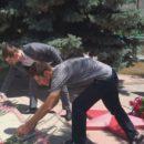 24 июня в Ахтынском районе возложили цветы к Обелиску павшим в годы Великой Отечественной войны землякам (11)