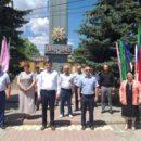 24 июня в Ахтынском районе возложили цветы к Обелиску павшим в годы Великой Отечественной войны землякам (2)