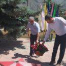 24 июня в Ахтынском районе возложили цветы к Обелиску павшим в годы Великой Отечественной войны землякам (5)