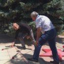 24 июня в Ахтынском районе возложили цветы к Обелиску павшим в годы Великой Отечественной войны землякам (6)