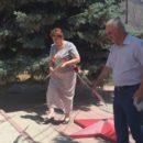 24 июня в Ахтынском районе возложили цветы к Обелиску павшим в годы Великой Отечественной войны землякам (7)