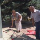 24 июня в Ахтынском районе возложили цветы к Обелиску павшим в годы Великой Отечественной войны землякам (8)