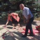 24 июня в Ахтынском районе возложили цветы к Обелиску павшим в годы Великой Отечественной войны землякам (9)