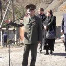 Открытие Обелиска в честь павших воинов миджахцев в Великой Отечественной Войне. (3)