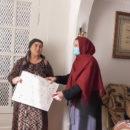 Посещение многодетных матерей, тружениц и ветеранов с. Ахты (11)