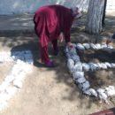 работники МКУ «УКСМПиТ» Ахтынского района провели масштабный субботник (3)
