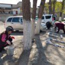 работники МКУ «УКСМПиТ» Ахтынского района провели масштабный субботник (8)