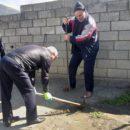 работники МКУ «УКСМПиТ» Ахтынского района провели масштабный субботник (9)